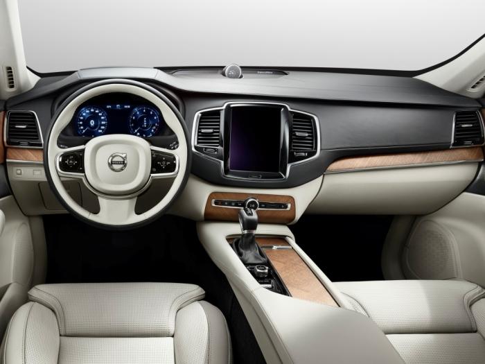 Салон кроссовера Volvo XC90. | Фото: volvo.autoua.net.