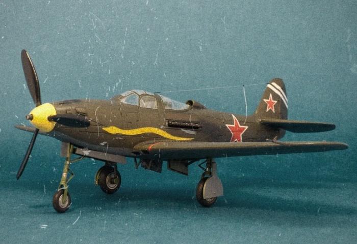 P-39 «Аэрокобра» дважды Героя Советского Союза Султан Амет-Хана. | Фото: karopka.ru.