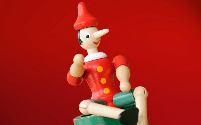 Пиноккио – самый известный лгун, которого выдавал его нос.