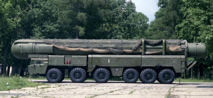 МАЗ-547В – основа для ракетного комплекса 15П645 «Пионер».