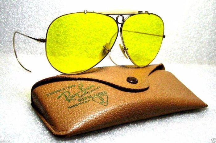 Солнцезащитные очки «Авиаторы», уже много лет выпускаемые фирмой Ray-Ban.