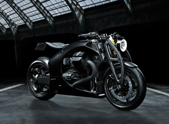 Новый эстонский мотоцикл Renard GT. | Фото: renardmotorcycles.com.