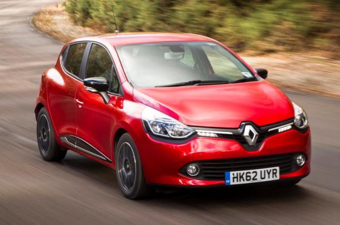 Renault Clio четвертого поколения. | Фото: autocar.co.uk.