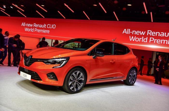 Пятое поколение французского хэтчбека Renault Clio. | Фото: autocar.co.uk.