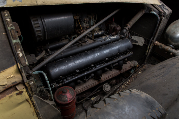 Двигатель раритетного Rolls-Royce 1937 года. | Фото: lbilimited.com.