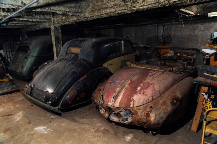 Автомобильные раритеты конца 1930-х годов. | Фото: lbilimited.com.