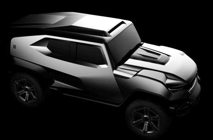 Внушительные очертания американского внедорожника Rezvani SUV. | Фото: autocar.co.uk.