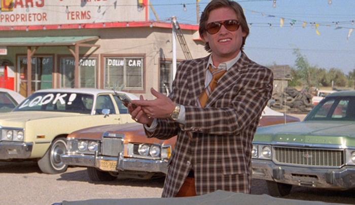 Кадр из фильма «Подержанные автомобили», 1980 год. | Фото: justacarguy.blogspot.com.