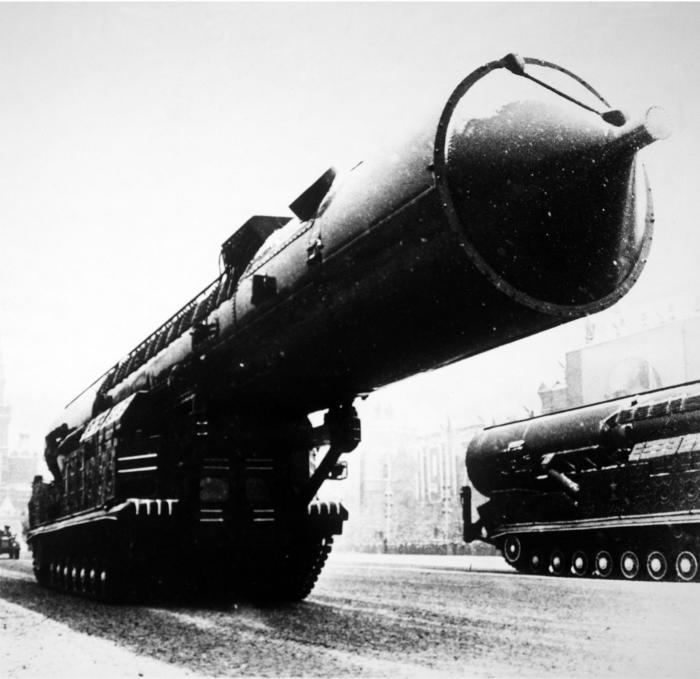 Первая советская передвижная МБР РТ-20. | Фото: ru.wikipedia.org.