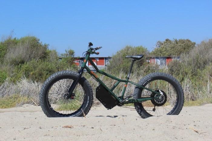 Колесная база Rungu существенно больше, чем у традиционных велосипедов. | Фото: paddlexaminer.com.