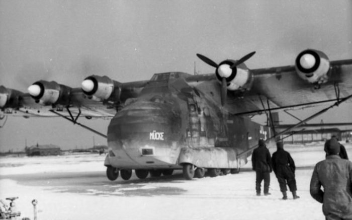 Messerschmitt 323 где-то в России, 1942 год. | Фото: warhistoryonline.com.