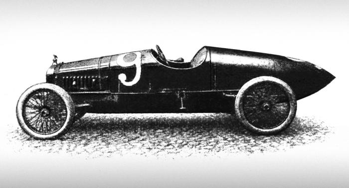 Один из первых гоночных автомобилей в России – Руссо-Балт С24/30 мог разгоняться до 130 км/ч. | Фото: autowp.ru.
