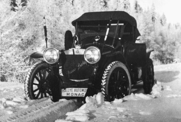 Руссо-Балт С24/50 на Ралли Монако, 1912 год.