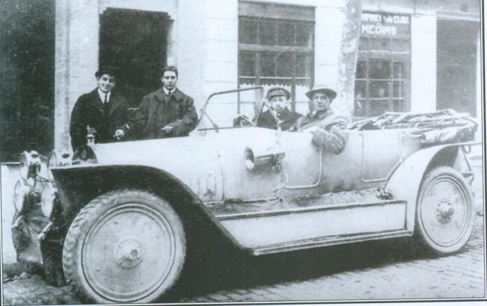 «Руссо-Балт» Андрея Нагеля во время тура по Африке, 1913 год. | Фото: web.archive.org.