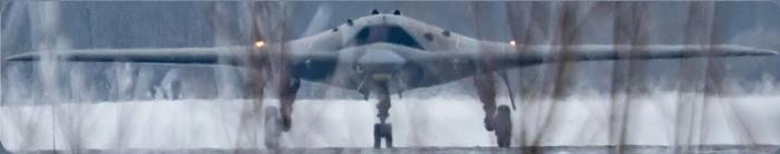 С-70 «Охотник» выполнен по аэродинамической схеме «летающее крыло». | Фото: youtube.com.