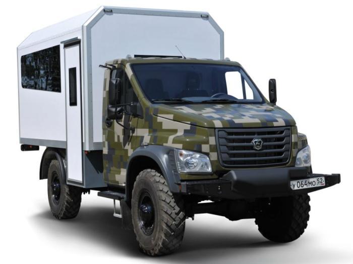 Полноприводный грузовик Садко NEXT попадет в серию в 2018 году. | Фото: trucksplanet.com.