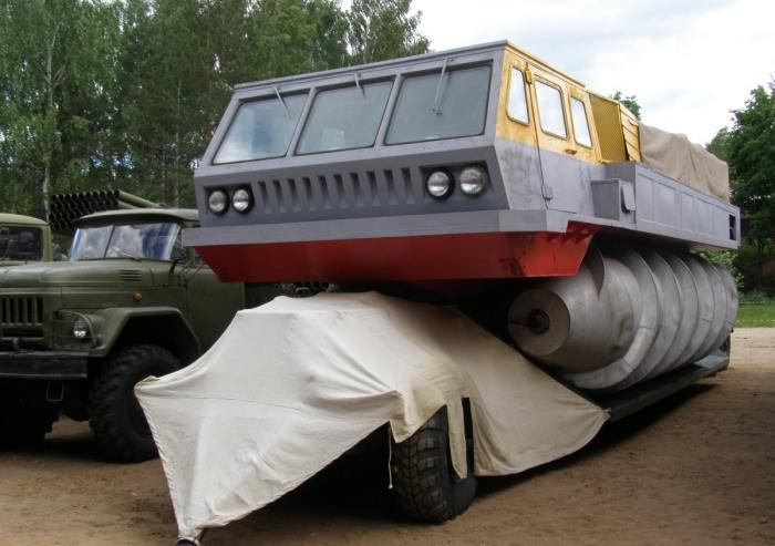 Единственный сохранившийся ЗиЛ-4904 в Государственном Военно-техническом музее в Черноголовке.   Фото: gvtm.ru.