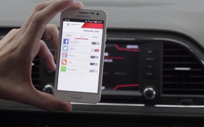 Благодаря системе Full Link водитель всегда на связи.