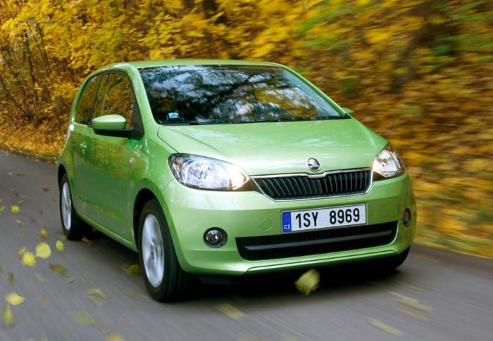 Skoda Citigo - самый маленький автомобиль чешского производителя. | Фото: autochehol.com.ua.