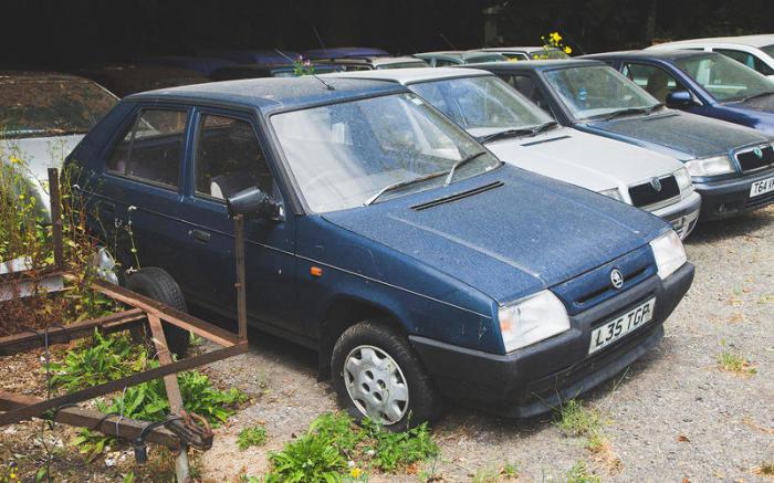 Skoda Favorit 90-х годов – нечастный, и потому особенно желанный автомобиль для Марка.   Фото: autocar.co.uk.