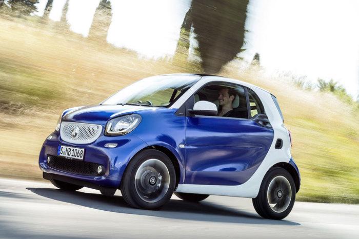 Smart Fortwo – лидер продаж в крохотном княжестве Монако. | Фото: cars.com.