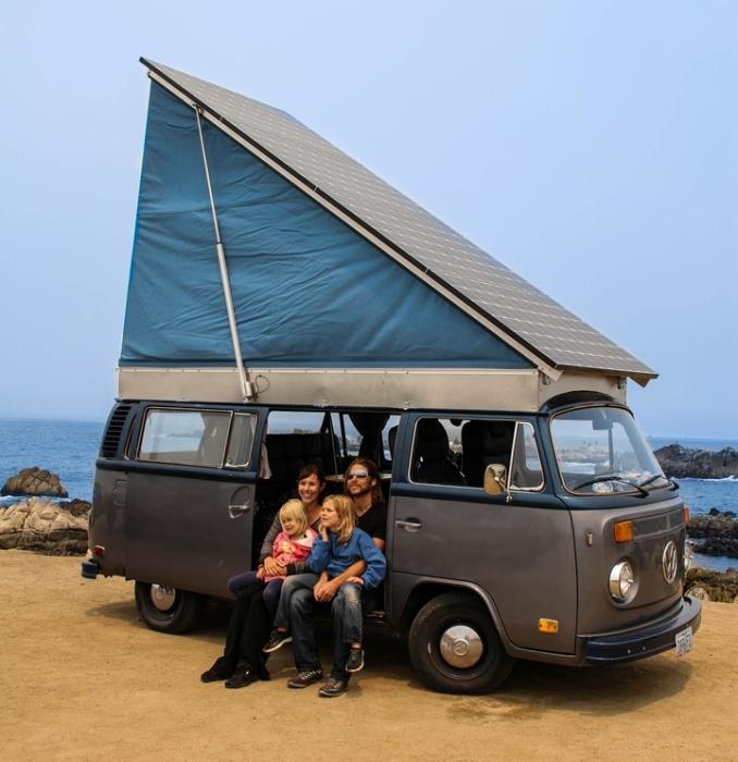VW Bus 1972 года, который обрел новую жизнь. | Фото: solarelectricvwbus.com.