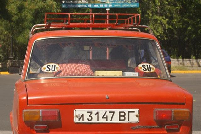 «Копейка», побывавшая за границей. | Фото: drive2.ru.