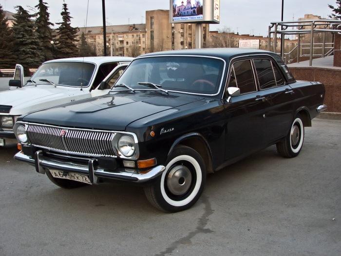 Волга с флипперами. | Фото: drive2.ru.