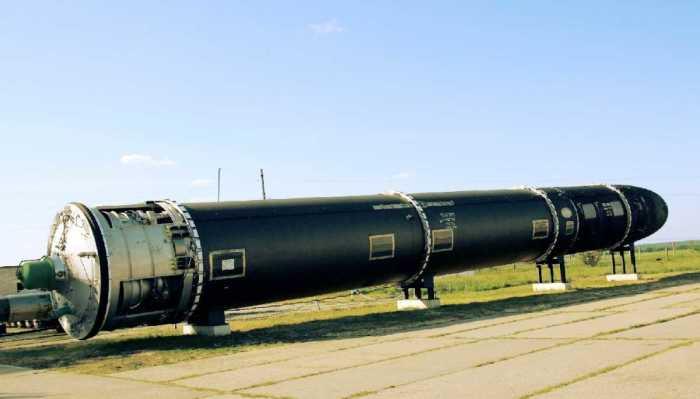Межконтинентальная баллистическая ракета Р-36М. | Фото: rusvesna.su.