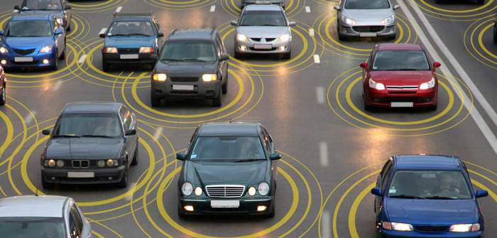 «Контакт» автомобилей через интернет.