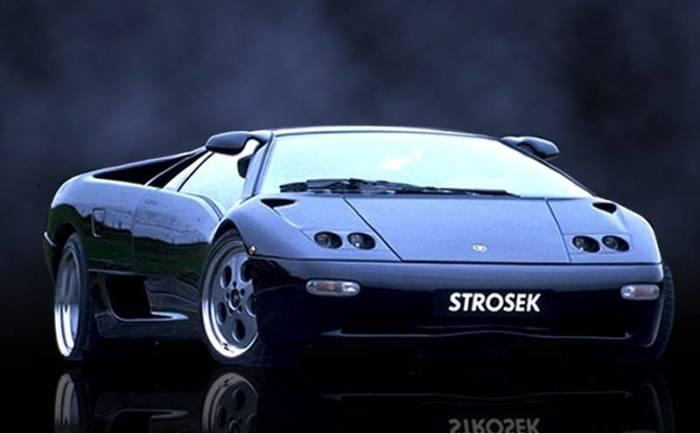 Lamborghini Diablo Strosek, на котом нельзя выезжать на дороги. | Фото: cheatsheet.com.