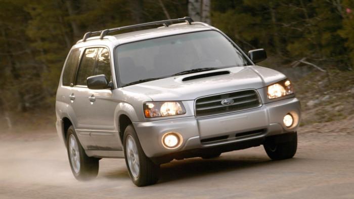 Subaru Forester - японский кроссовер второго поколения (2002-2007 г.в.)
