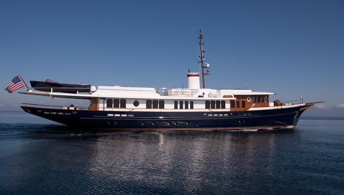 46-метровая яхта Sycara IV.