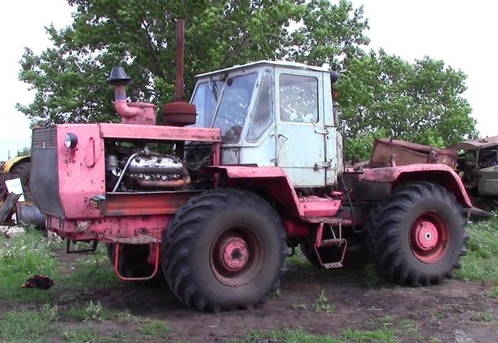 Советский трактор Т-150К. | Фото: youtube.com.