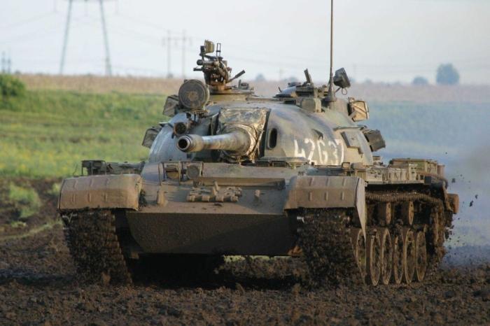Основной боевой танк СССР Т-55. | Фото: cont.ws.