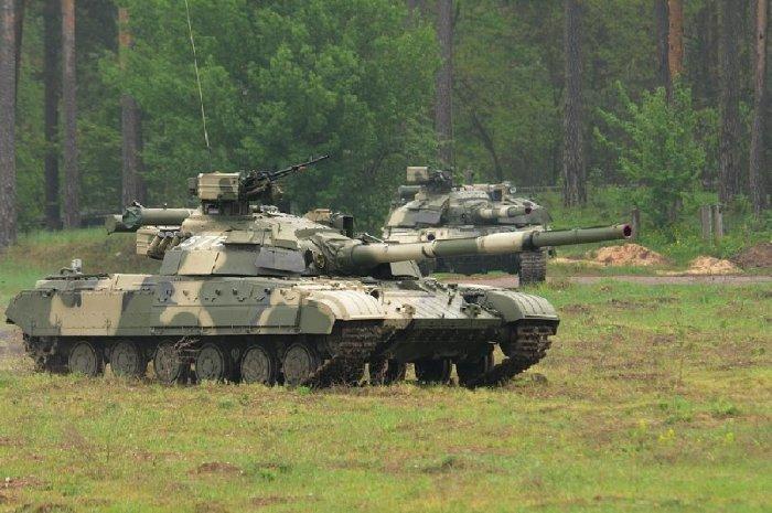 Современная модификация основного танка Т-64. | Фото: atvtank.ru.