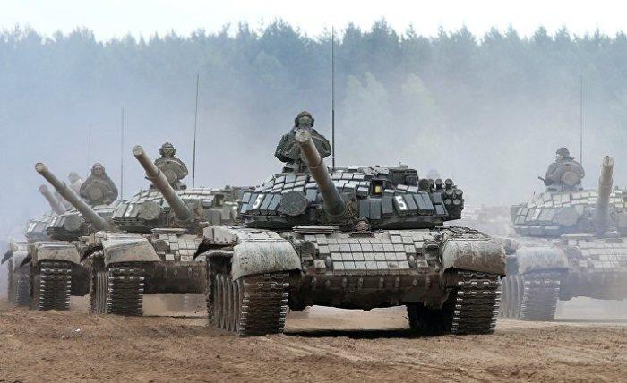 Танк Т-72 - основная броневая сила российской армии. | Фото: inosmi.ru.