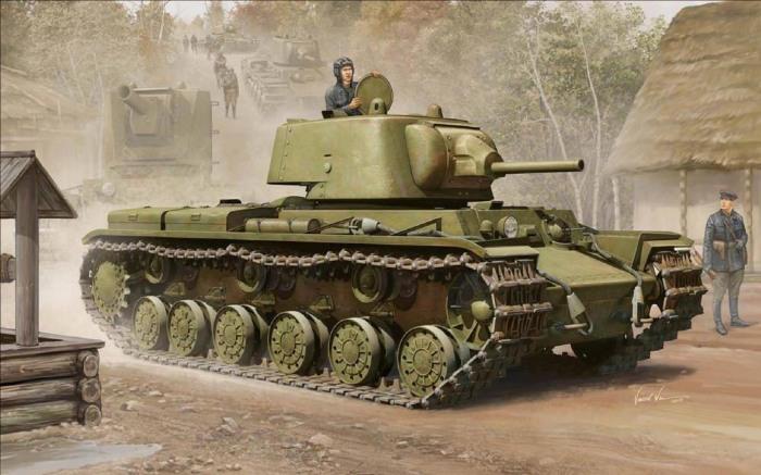 Тяжелый танк КВ-1 успел повоевать еще во время советско-финской войны 1939-1940 гг. | Фото: voennoe-delo.com.