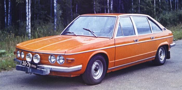 Tatra 613 во время испытаний в СССР.   Фото: auto.mail.ru.