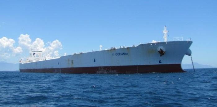 Супертанкер TI Oceania. | Фото: maritime-connector.com.