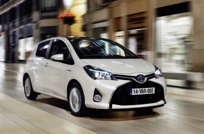 Субкомпактный автомобиль Toyota Yaris. | Фото: autocar.co.uk.