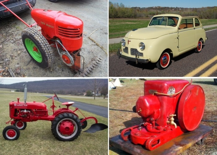 Машины и агрегаты, послужившие при создании трактороцикла.