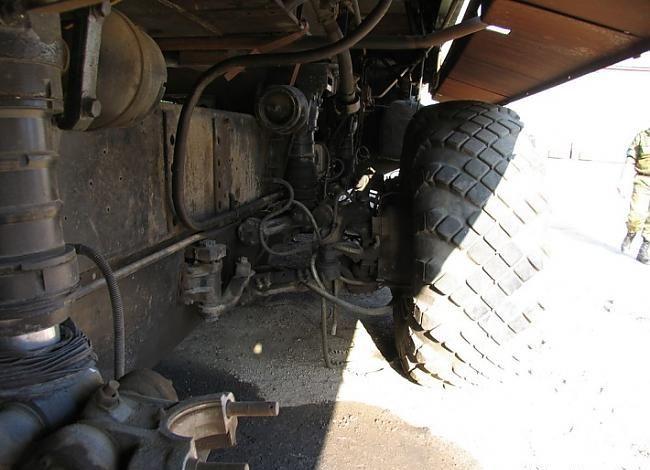 Сложная система привода и поворота колеса. | Фото: fedoroff.net.