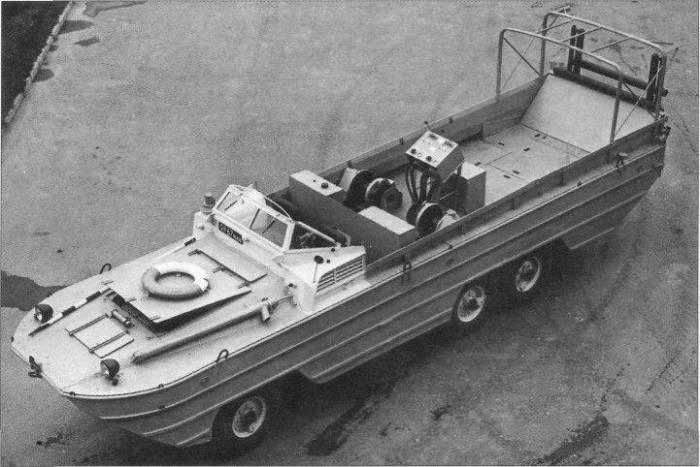 Траулер-амфибия УРОМ-2 создана для нужд советских рыболовов. | Фото: topwar.ru.