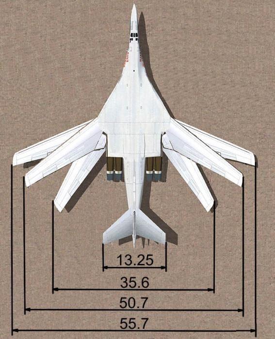 Изменяемая стреловидность крыла позволяет существенно сократить габариты самолета на стоянке в ангаре. | Фото: nevsedoma.com.ua.