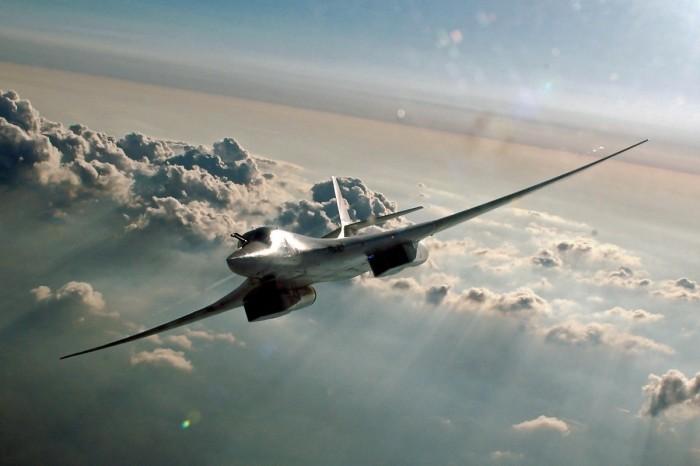 Ту-160 способен лететь со скоростью 2 Маха.   Фото: vistanews.ru.