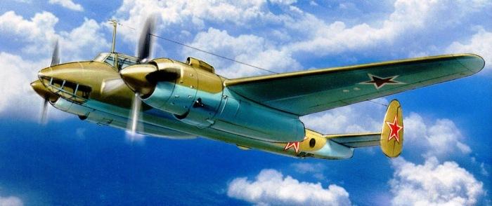 В годы войны было выпущено всего 800 самолетов Ту-2. | Фото: legendary-aircraft.blogspot.com.