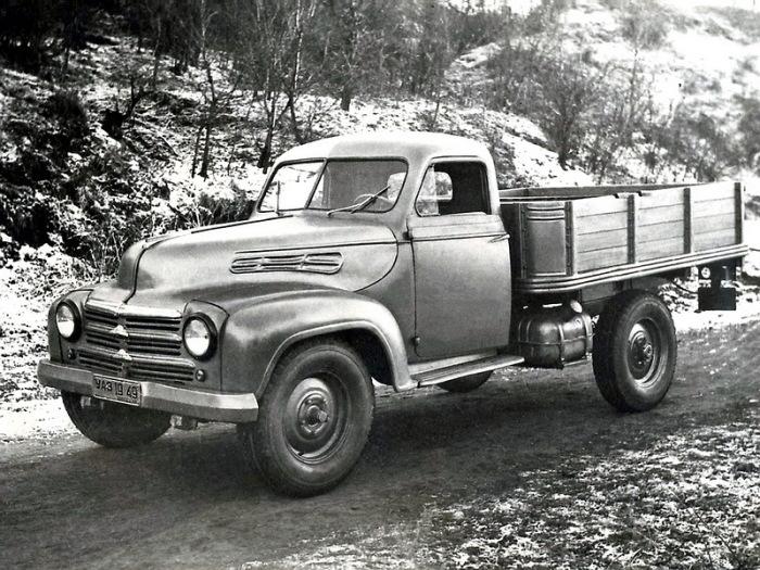 Легкий грузовик УАЗ-300, 1949 год. | Фото: autowp.ru.