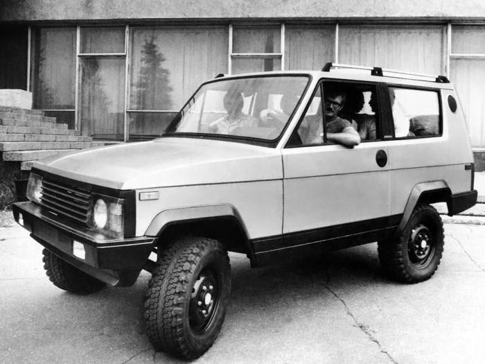 Опытный экземпляр внедорожника УАЗ-3170, 1979 год. | Фото: autowp.ru.