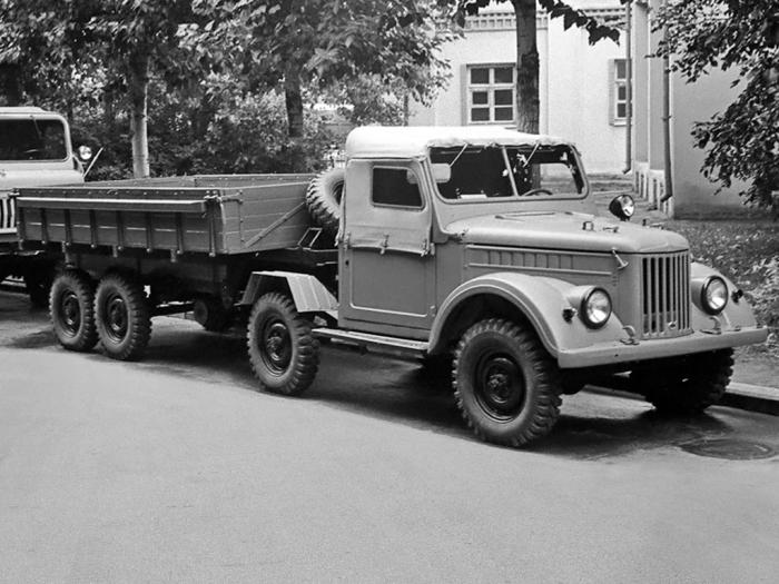 Седельный тягач УАЗ-456, 1959 год. | Фото: autowp.ru.